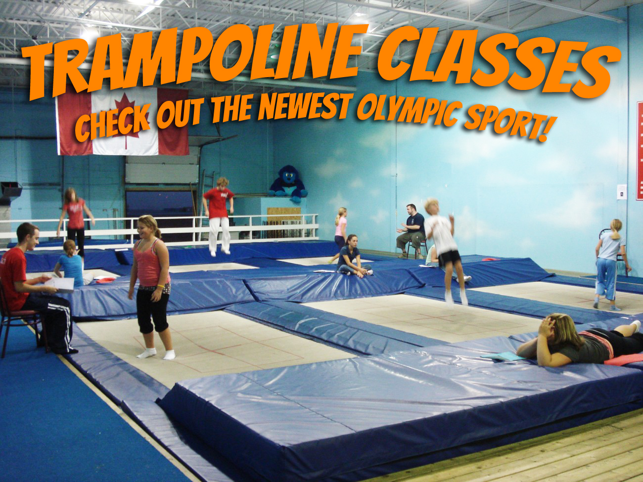 Airborne Gymnastics Trampoline Classes
