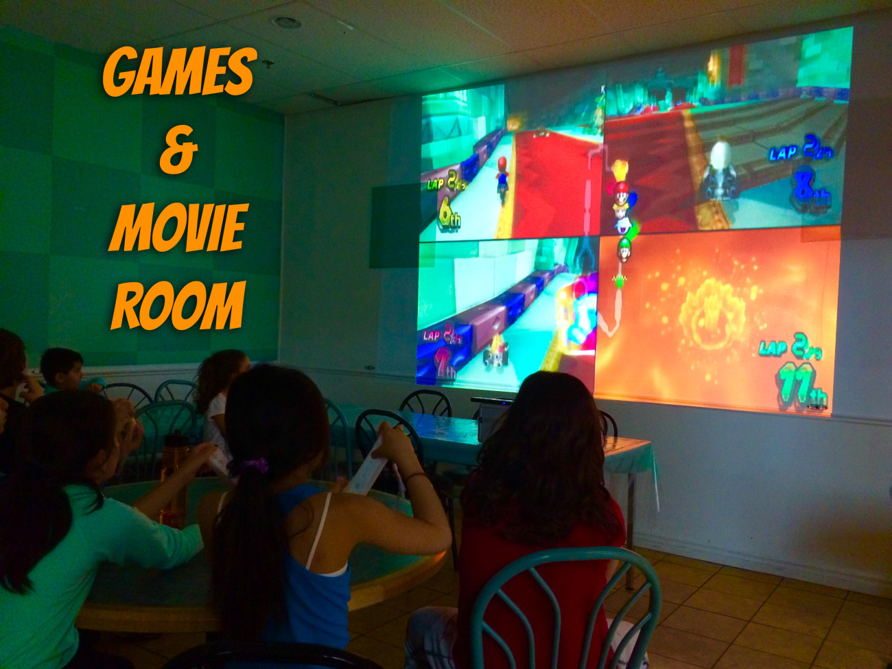 Games & Movie Room