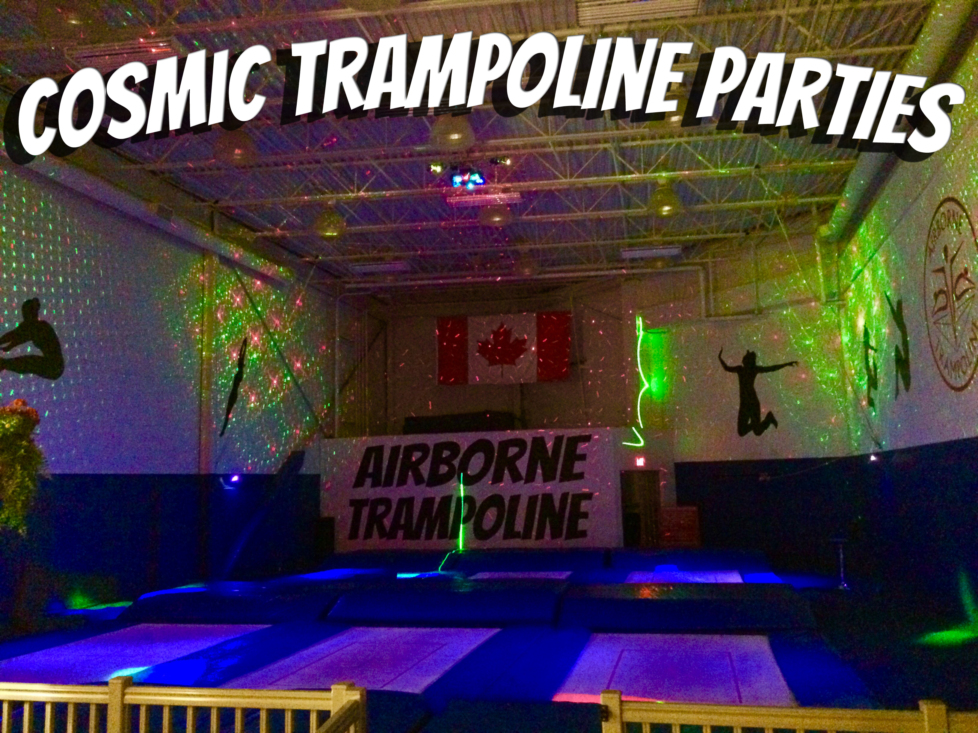 Cosmic Trampoline Party