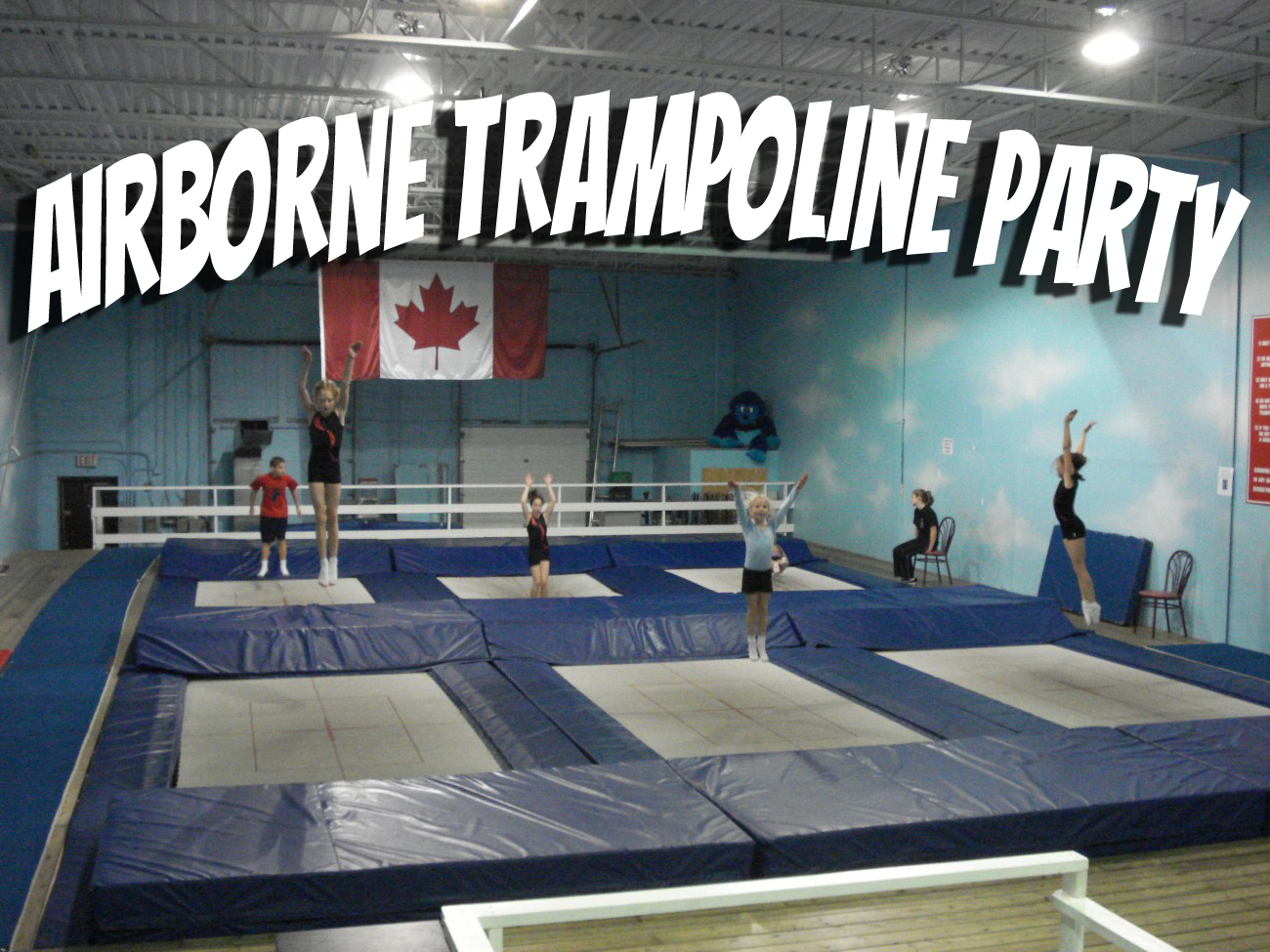 Airborne Trampoline Party