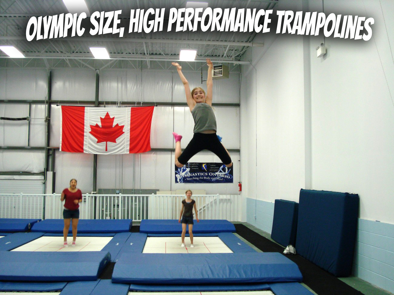 Olympic Size Trampolines
