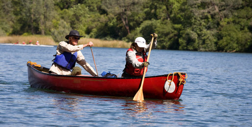 Family Summer Activities Canoeing