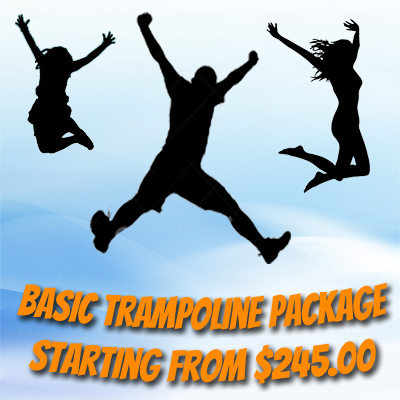 Basic Trampoline Parties Package