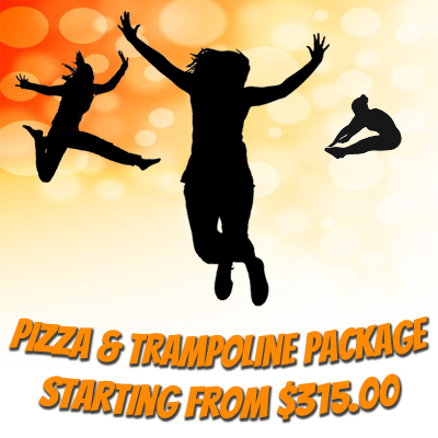 Pizza Trampoline Parties Package