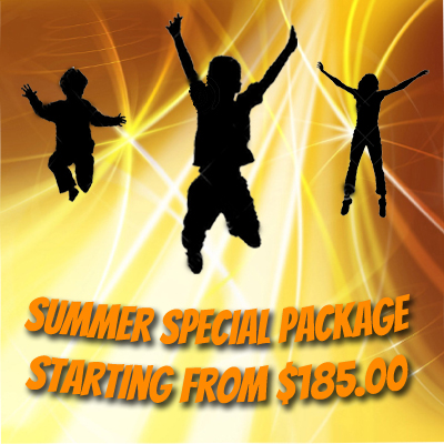 Summer Special Trampoline Parties Package