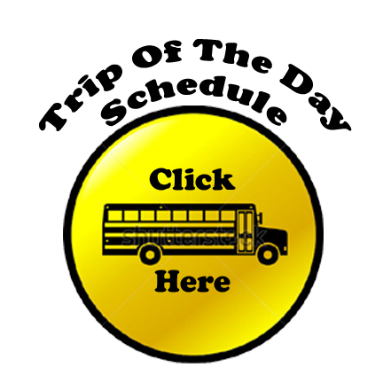 Summer Trampoline Day Camp Trip Schedule